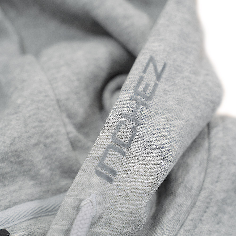 Roundnet Germany Logo Hoodie Grey Detail