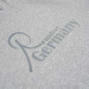 Roundnet Germany Hoodie Grey Detail