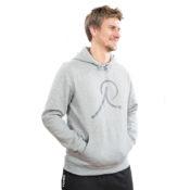 Roundnet Germany Logo Hoodie Grey