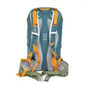 Inchez Backpack Rucksack Rueckseite mit Flossen