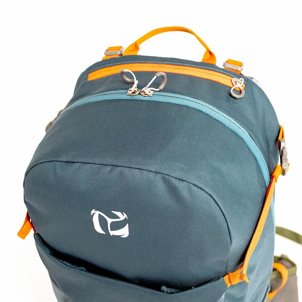 Inchez Backpack Rucksack Reissverschlusstasche oben